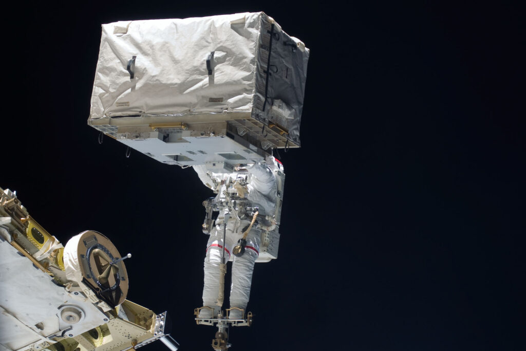 multi layer insulation in use in space