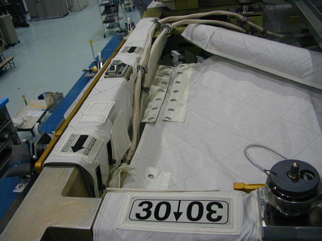 multilayer insulation close up