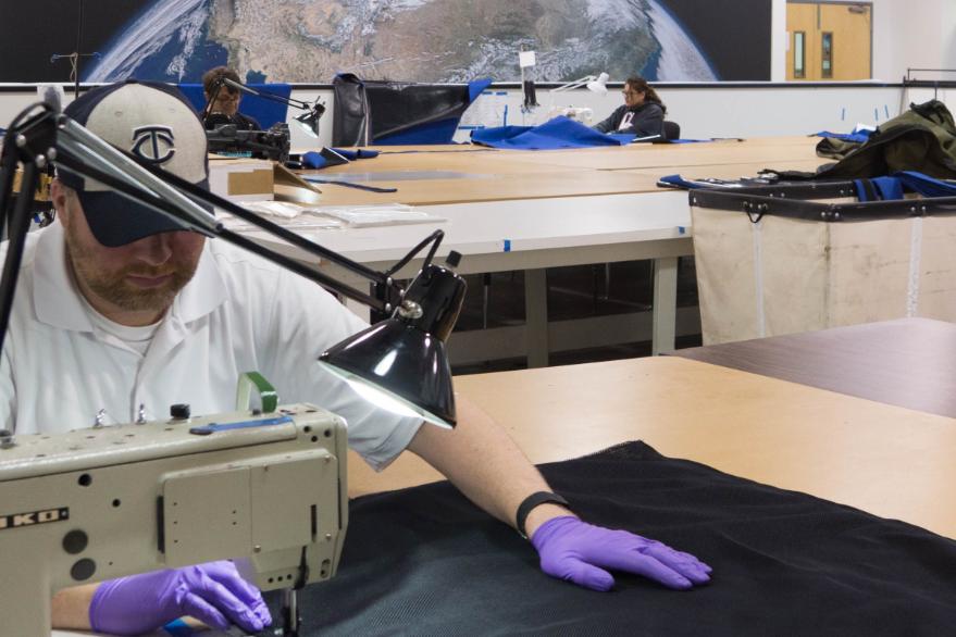 Aerospace fabrication employee