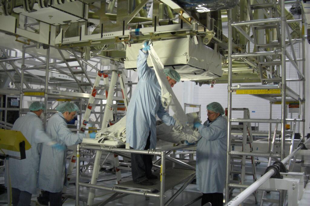 team at aerospace fabrication