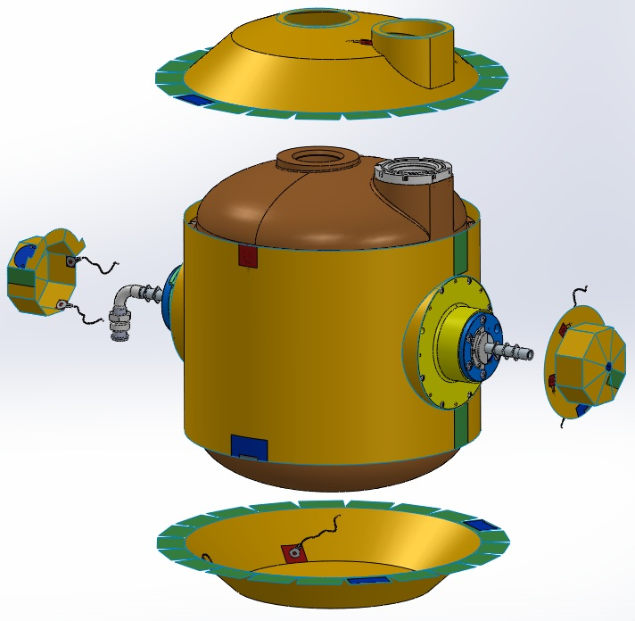 exploded cad diagram